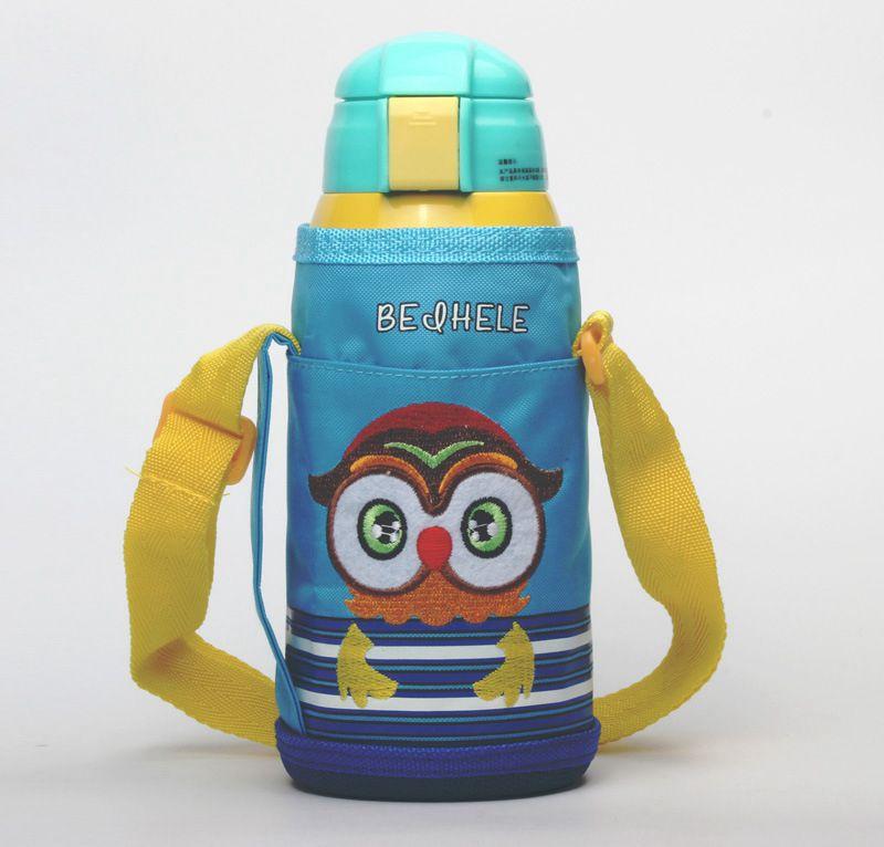 儿童吸管保温杯1瓶2用
