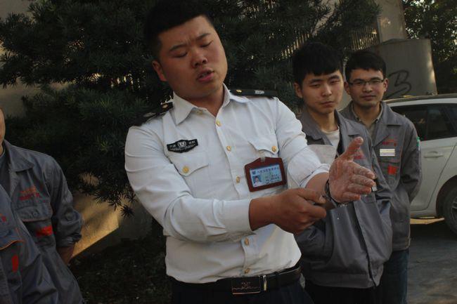 超朗工贸2019年4月消防逃生实战演习