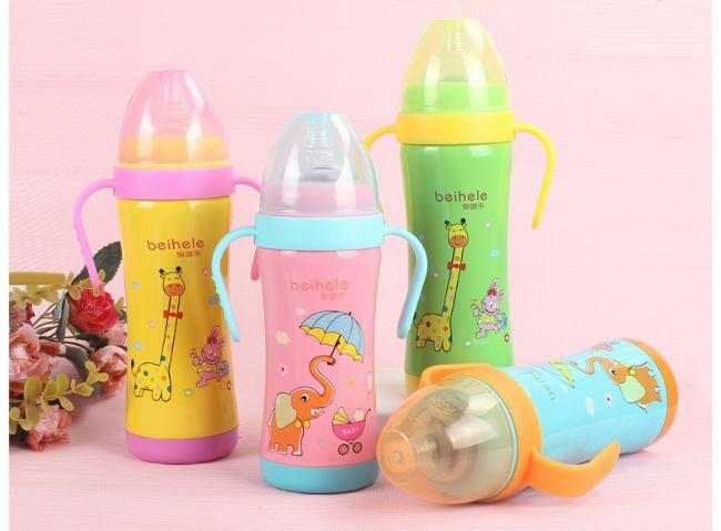 [奶瓶材质]什么材质的奶瓶最好-倍呵乐不锈钢奶瓶
